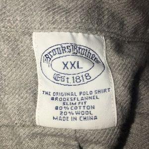 Brooks Brothers Shirts - Brooks Brothers Flannel Shirt (0348)